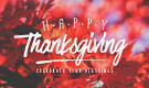 Thanksgiving Holiday Changes